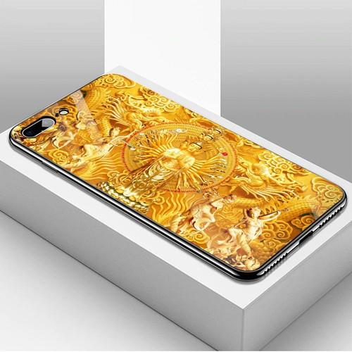 Ốp kính cường lực cho điện thoại iphone 7 plus  -  8 plus - tôn giáo ms tgiao019