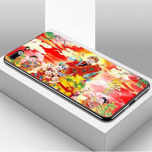 Ốp kính cường lực cho điện thoại iphone 7 plus  -  8 plus - tôn giáo ms tgiao017
