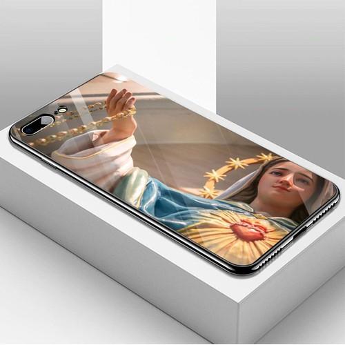 Ốp kính cường lực cho điện thoại iphone 7 plus  -  8 plus - tôn giáo ms tgiao018