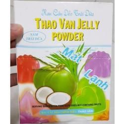 Rau câu trái dừa Thảo Vân - 1 Hộp 12 gói nhỏ