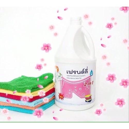 Nước giặt xả 2in1 friendly thái lan 3500 ml