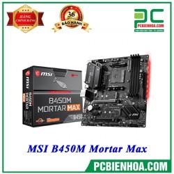 MAINBOARD MSI B450M MORTAR MAX - MAINBOARD MSI B450M MORTAR MAX