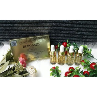 Set 4 lọ Tinh chất dưỡng da Bergamo Luxury Gold Ha n Quô c - BERGA_V4 thumbnail