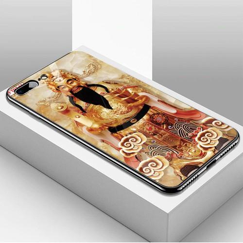 Ốp điện thoại kính cường lực cho máy iphone 7 plus  -  8 plus - tôn giáo ms tgiao014