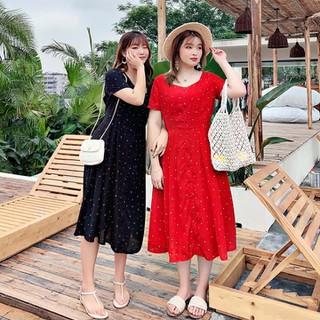 Đầm Hoa nhí dáng dài - Bigsize cao cấp - BIG3 thumbnail