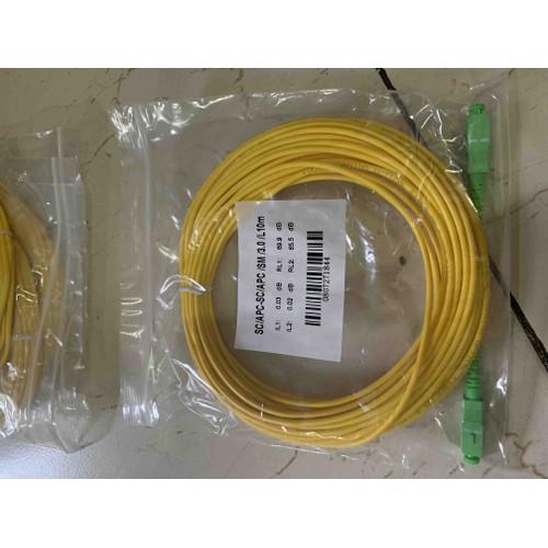 dây nhảy quang sc-apc  sc-apc 10met sợi đơn - 11637152 , 20710528 , 15_20710528 , 50000 , day-nhay-quang-sc-apc-sc-apc-10met-soi-don-15_20710528 , sendo.vn , dây nhảy quang sc-apc  sc-apc 10met sợi đơn