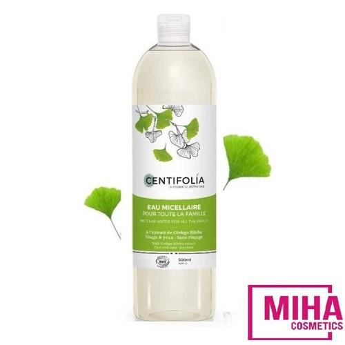 Nước tẩy trang rau má centifolia 500ml pháp