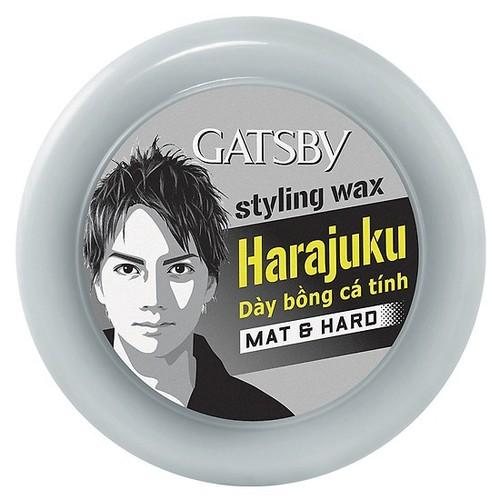 Wax tạo kiểu tóc gatsby đen