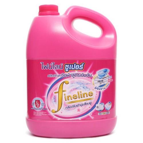 Nước giặt xả fineline đậm đặc thái lan 2800 mldòng nước giặt nội địa thái lan