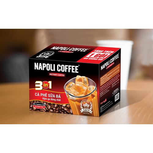 Cà phê sữa đá 3in1 - napoli cafe - bịch 35 gói - 12777358 , 20694384 , 15_20694384 , 91000 , Ca-phe-sua-da-3in1-napoli-cafe-bich-35-goi-15_20694384 , sendo.vn , Cà phê sữa đá 3in1 - napoli cafe - bịch 35 gói