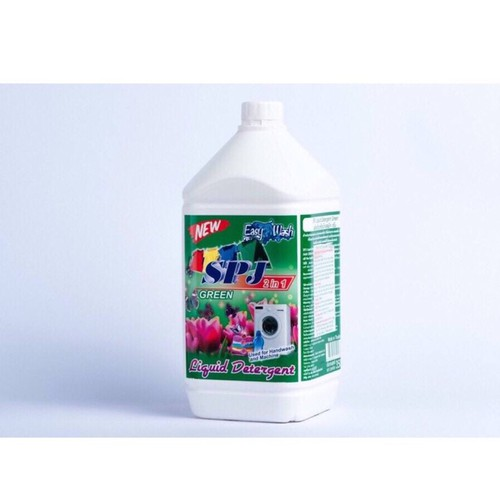 Nước giặt xả 2in1 cho máy giặt cửa ngang spj green thái lan