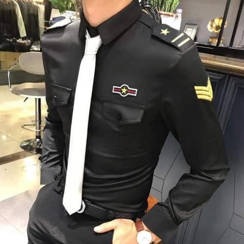 Áo sơ mi nam phi công lịch lãm, áo sơ mi cơ trưởng bay - 17394223 , 20718086 , 15_20718086 , 199000 , Ao-so-mi-nam-phi-cong-lich-lam-ao-so-mi-co-truong-bay-15_20718086 , sendo.vn , Áo sơ mi nam phi công lịch lãm, áo sơ mi cơ trưởng bay