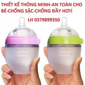 Bình sữa siêu mềm cho bé - Bình sữa siêu mềm cho bé H350