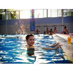 HN - 03 lượt bơi tại Hệ thống Bể bơi Bốn Mùa Olympia