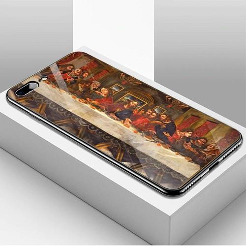Ốp kính cường lực cho điện thoại iphone 7 plus  -  8 plus - tôn giáo ms tgiao021