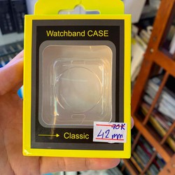 Ốp Silicon Apple Watch trong suốt size 42mm - 44mm