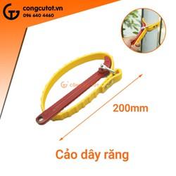 Cảo mở nắp dầu nhớt bằng dây đai 200mm