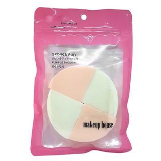 Bông phấn ướt tam giác 4 miếng Makeup House - n972 thumbnail