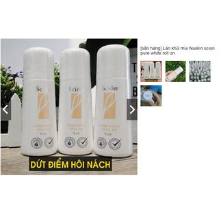 Lăn khử mùi Nuskin scion pure white roll on - 07812 thumbnail