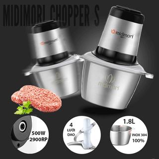 Máy xay thịt đa năng Gia đình - xay giò chả - Midimori chopperS - GC24338s thumbnail