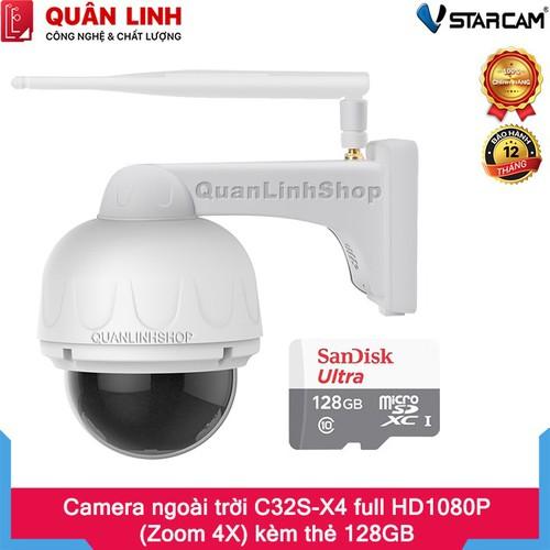 Camera ip wifi hồng ngoại giám sát ngoài trời vstarcam c32s-x4 full hd 1080p 2mp, zoom xa 4x kèm thẻ 128gb - 12792201 , 20713816 , 15_20713816 , 3390000 , Camera-ip-wifi-hong-ngoai-giam-sat-ngoai-troi-vstarcam-c32s-x4-full-hd-1080p-2mp-zoom-xa-4x-kem-the-128gb-15_20713816 , sendo.vn , Camera ip wifi hồng ngoại giám sát ngoài trời vstarcam c32s-x4 full hd 10