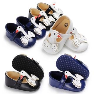 Giày tập đi cho bé gái 0-18 tháng hình thiên nga đáng yêu BBShine TD1 - TD1 thumbnail