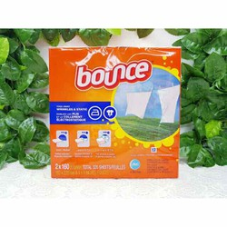 Giấy thơm quần áo BOUNCE Outdoor Renewing Freshness 4in1 Dryer Sheets