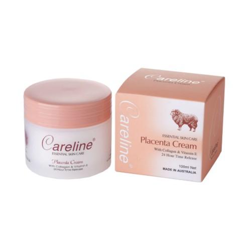 Kem Dưỡng Trắng Da Nhau Thai Cừu Careline Placenta Cream 100ml