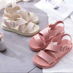 Giày sandal nhựa nữ thoải mái đi mưa hàng nhập SDN9977
