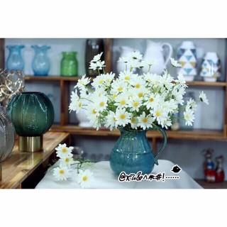 HOA CÚC HOẠ MI cành 24 bông siêu xinh, hoa giả, hoa lụa cao cấp - cuchoami thumbnail
