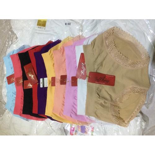 Combo 10 quần lót cotton