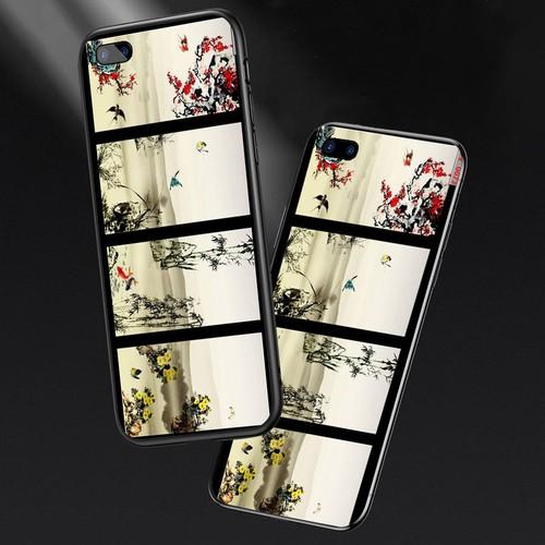 Ốp lưng cứng viền dẻo dành cho điện thoại oppo a5 - a3s - tứ quý ms tuquy004