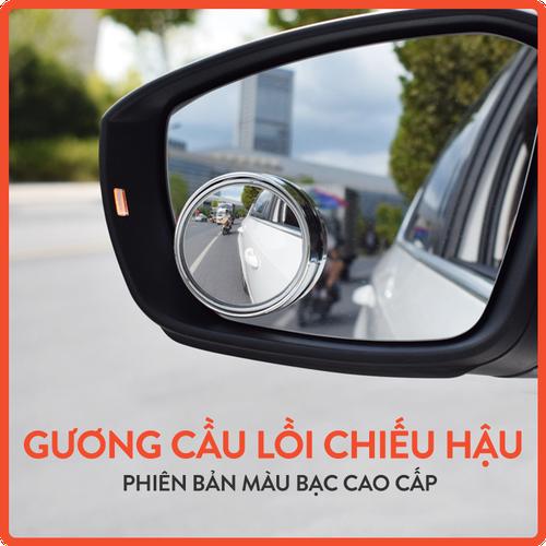 Bộ 2 chiếc gương cầu lồi tròn loại bạc cao cấp gắn kính chiếu hậu ô tô - 12798508 , 20722123 , 15_20722123 , 31000 , Bo-2-chiec-guong-cau-loi-tron-loai-bac-cao-cap-gan-kinh-chieu-hau-o-to-15_20722123 , sendo.vn , Bộ 2 chiếc gương cầu lồi tròn loại bạc cao cấp gắn kính chiếu hậu ô tô