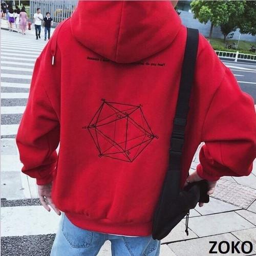 Áo khoác hoodie phong cách hàn quốc