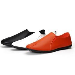 Giày lười nam da PU cao cấp, đế cao su bệt chống trơn trượt BM01