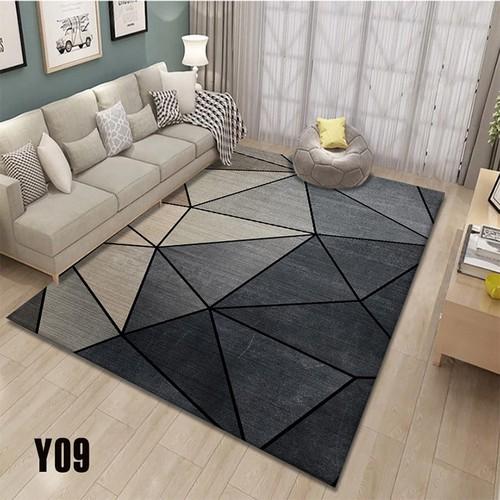 Thảm trải sàn hoa văn đơn giản và sang trọng, thảm trang trí phòng khách, thảm trang trí phòng ngủ - kèm ảnh thật