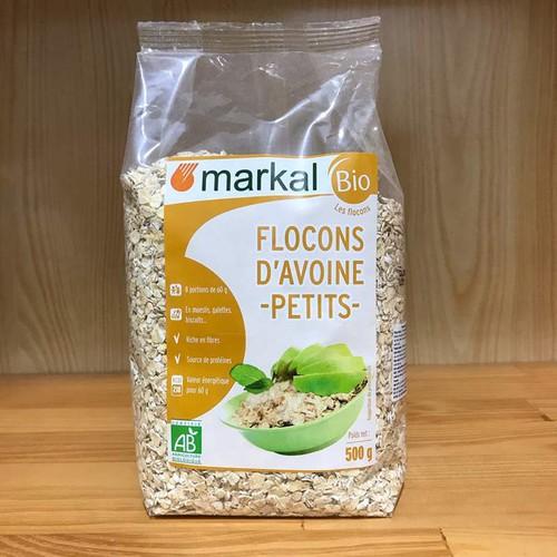 Hạt yến mạch ăn liền hữu cơ markal pháp 500g