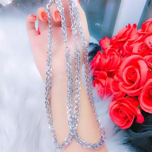 Dây chuyền nữ cao cấp dát bạch kim mẫu mới cực đẹp - 12813055 , 20741494 , 15_20741494 , 350000 , Day-chuyen-nu-cao-cap-dat-bach-kim-mau-moi-cuc-dep-15_20741494 , sendo.vn , Dây chuyền nữ cao cấp dát bạch kim mẫu mới cực đẹp