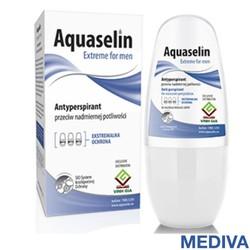 Aquaselin - Lăn nách ngăn tiết mồ hôi và khử mùi dành cho nam - Hàng Chính Hãng Có Tem Chống Giả