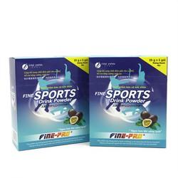 Combo 02 hộp SPORT DINK POWER Bù nước và điện giải bổ sung năng lượng dành cho người chơi thể thao, lao động nặng, mất nước