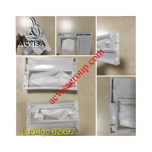 Combo 3 lưới lọc máy giặt kt 62 x 97 mm panasonic 1104
