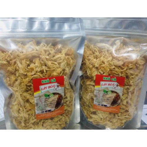 Combo 1kg khô gà giòn không cay lày hoà: 500g bơ tỏi và 500g lá chanh sản xuất từ những nguyên liệu tươi mới đảm bảo vệ sinh attp.