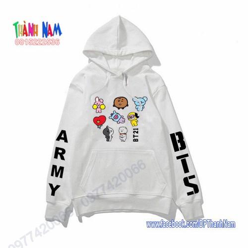Áo hoodie nhóm nhạc bts, áo thu đông bts, bt21 - 12798092 , 20721662 , 15_20721662 , 170000 , Ao-hoodie-nhom-nhac-bts-ao-thu-dong-bts-bt21-15_20721662 , sendo.vn , Áo hoodie nhóm nhạc bts, áo thu đông bts, bt21