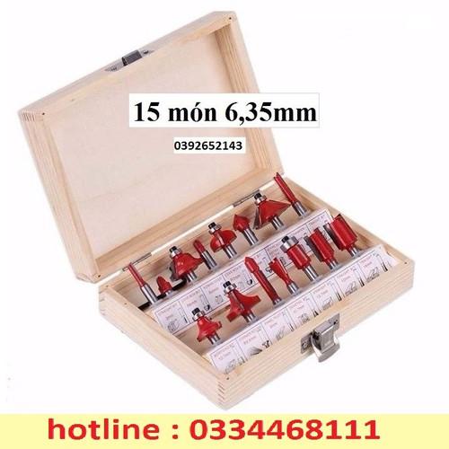 Bộ mũi phay gỗ - 12807499 , 20733439 , 15_20733439 , 246000 , Bo-mui-phay-go-15_20733439 , sendo.vn , Bộ mũi phay gỗ
