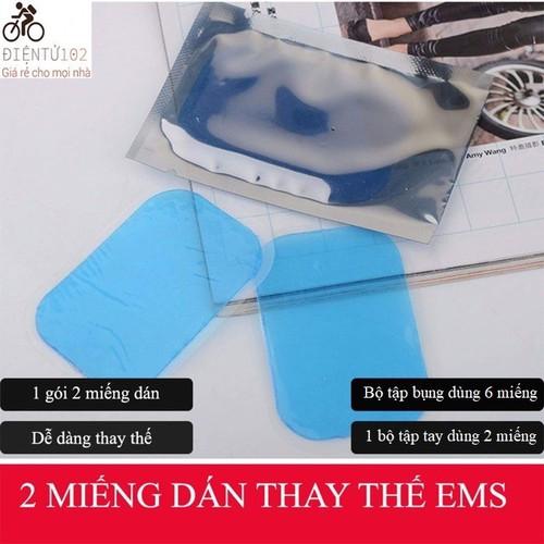 [Mua 20 miếng tặng 2 miếng] 4 miếng gel dán thay thế máy tập bụng giảm mỡ ems