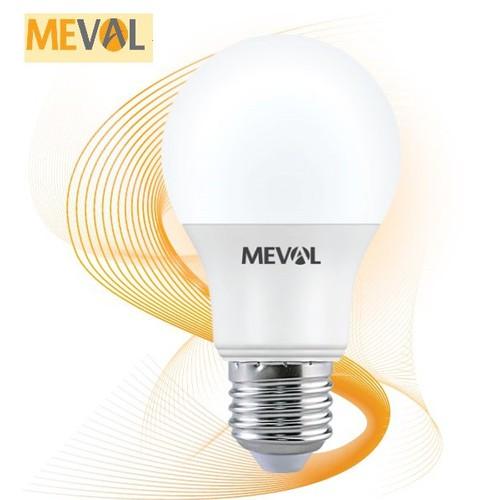 Bóng đèn tròn led eco ledbulb meval 11w màu trắng đuôi e27 bóng đèn nhập singapore