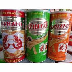 Snack tôm lon Thái Lan 37K Lon