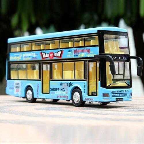 Mô hình xe bus 2 tầng - xe mô hình xe buýt 2 tầng
