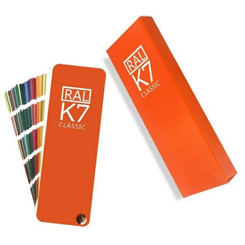 Quạt so màu ral k7