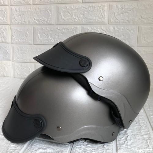 Mũ bảo hiểm nữa đầu – đủ màu – vòng đầu 50-60cm – khách được kiểm tra sản phẩm trước khi nhận- bảo hành 12 tháng